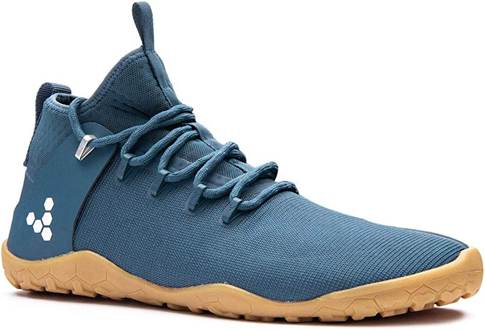 vivobarefoot Magna Trail, Mens Vegan Multi-Terrain Hiking Shoe with Barefoot Sole Thermal Protection