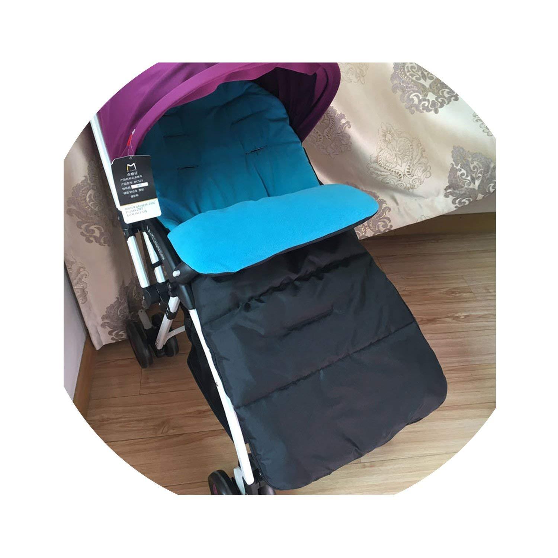 SP WHY 1pc/lot Winter Autumn Baby Infant Warm Sleeping Bag Baby Stroller Sleeping Bag Waterproof,Blue,12M