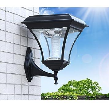 Grfh Solar Lampe Wandleuchte Led Wande Europaische Hof Lampe Zaun