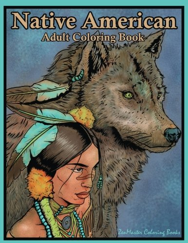 Native American Adult Coloring Book product image