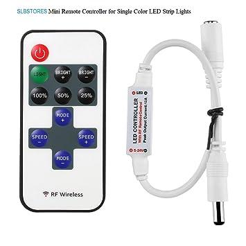 Le mini remote controller for single colour led strip lights rf le mini remote controller for single colour led strip lights rf dimmer for 12 v mozeypictures Choice Image
