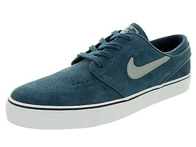 san francisco 23707 309f2 NIKE Zoom Stefan Janoski, Chaussures de Skate - Homme - Bleu (bleu  escadrille