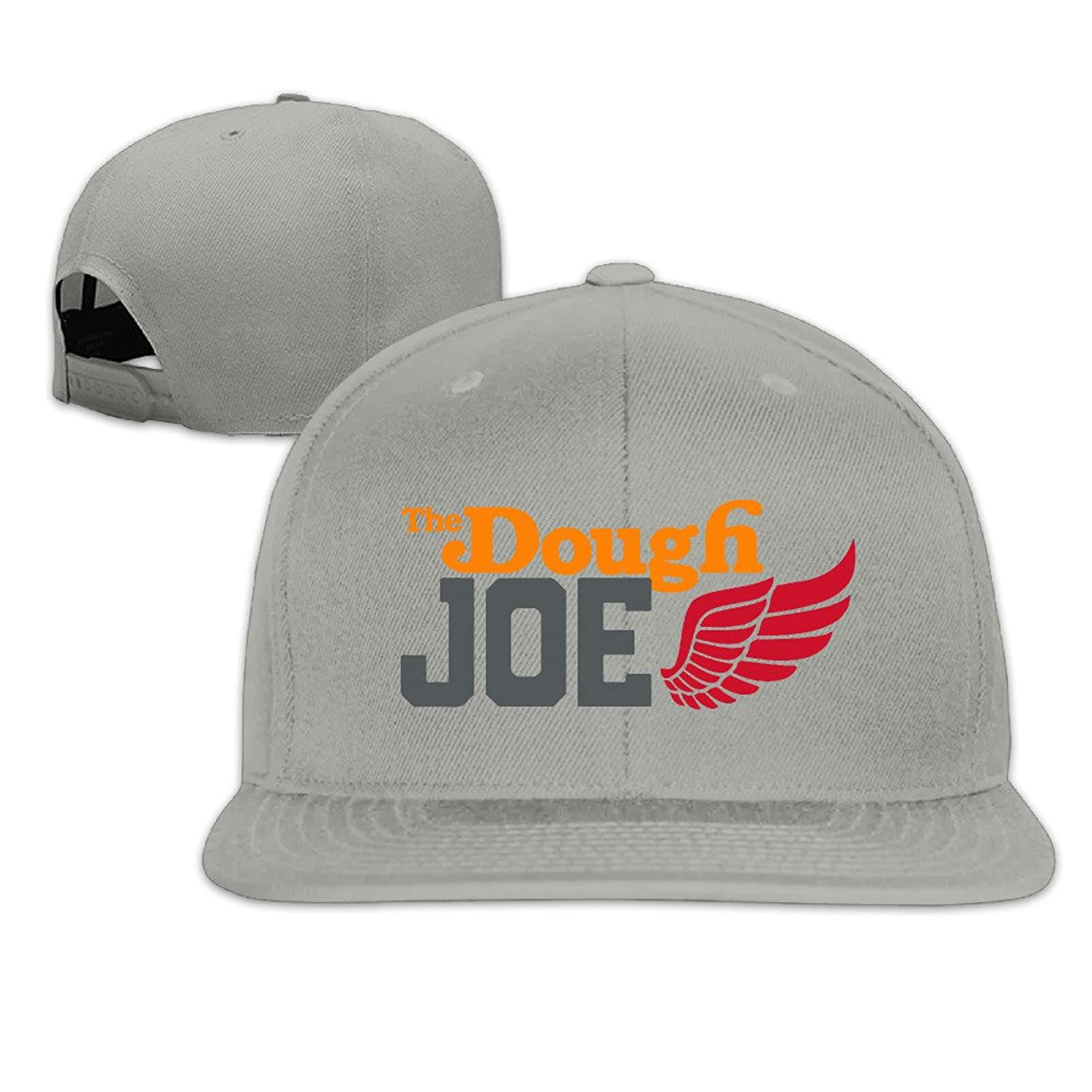 The Dougt Joe Snapback Flat Brim Hats Adjustable Ash Baseball Cap