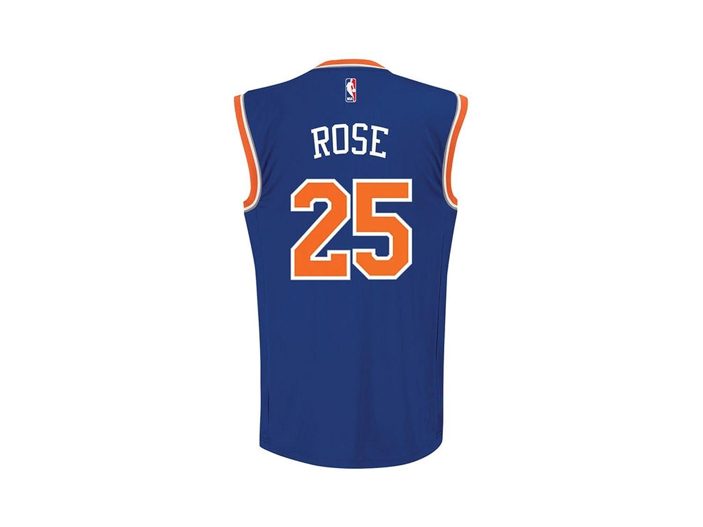 cheap for discount 1da20 b6812 Adidas New York Knicks Rose 25 Mens NBA Basketball Jersey Vest