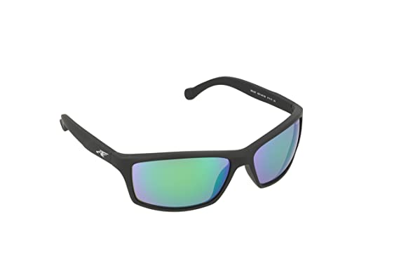 f8219b09473f Amazon.com: Arnette Boiler Rectangular Sunglasses, Black, 61 mm ...
