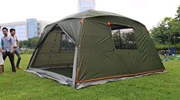 Outdoor Sports 5-8 People Large Beach Canopy UV Protection Sun Shade Shelter POP UP & Amazon.com: Outdoor Sports 5-8 People Large Beach Canopy UV ...