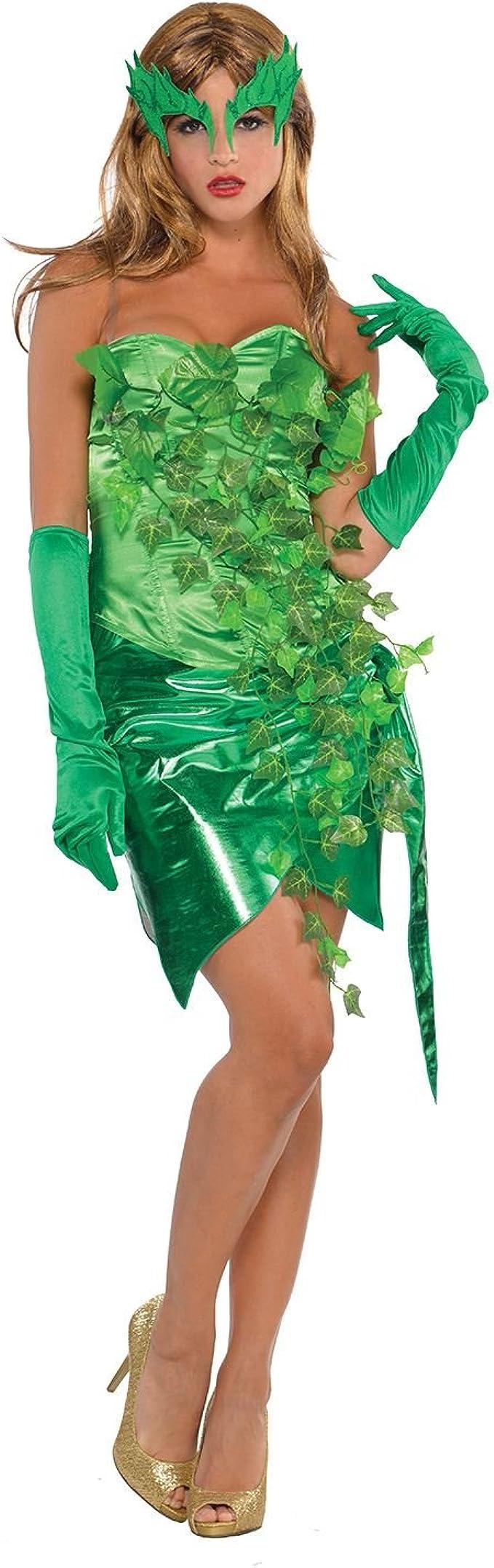 Amscan Nuevo Mujer Halloween Super villano tóxicos Ivy una fiesta ...