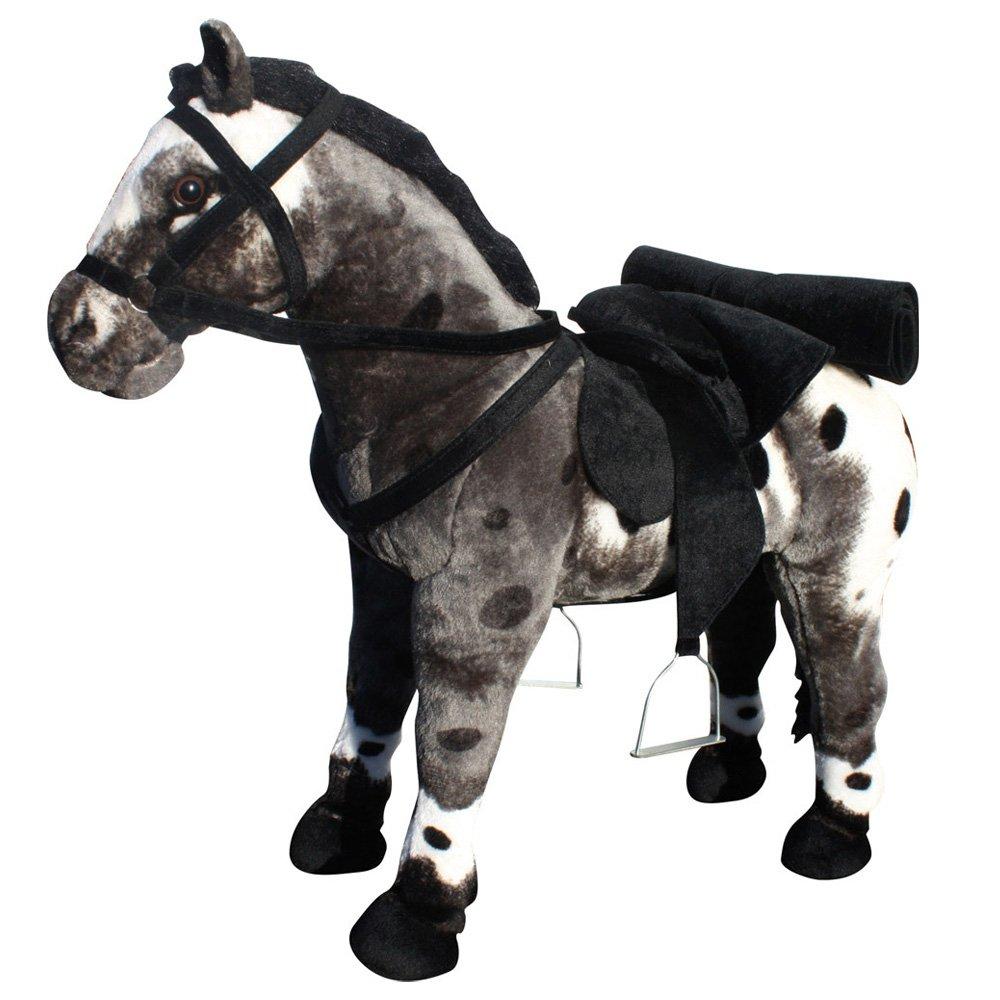 Beluga 70892 – Cavallo in peluche – nero bianco