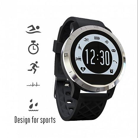reloj inteligente smartwatch bluetooth con Rastreador de Salud,Monitorización del sueño con tador de Calorías