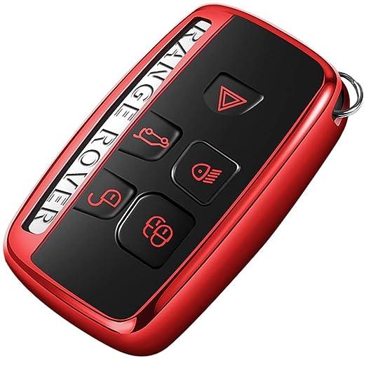KUANGYE Para Range Rover Evoque Cubierta de llavero de ...
