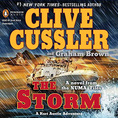 The Storm: A Novel from the Numa Files by Penguin Audio