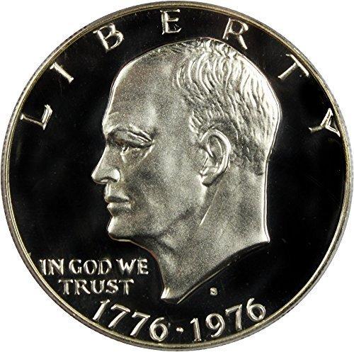 - 1976 S Eisenhower IKE Dollar 40% Silver Dollar Proof US Mint