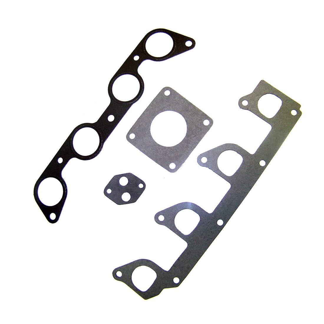 DNJ IG448 Intake Gasket for 1995-2001 // Ford 2.5L // SOHC // L4 // 8V // 140cid 2295cc Mazda // B2300 153cid Ranger // 2.3L B2500 2492cc