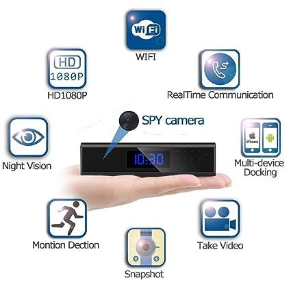 Amazon com : Alppq Wireless Mini Hidden Camera WiFi HD 1080P