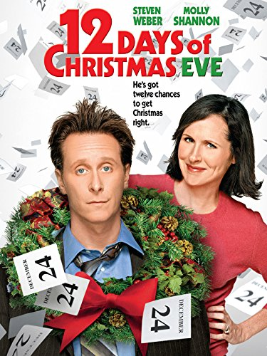 12 Days of Christmas Eve (Holidays Happy Year Sign)