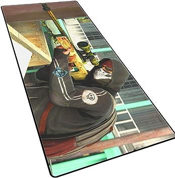 Alfombrilla de ratón para juegos de gran tamaño CSgo, almohadilla para teclado de 3 mm de