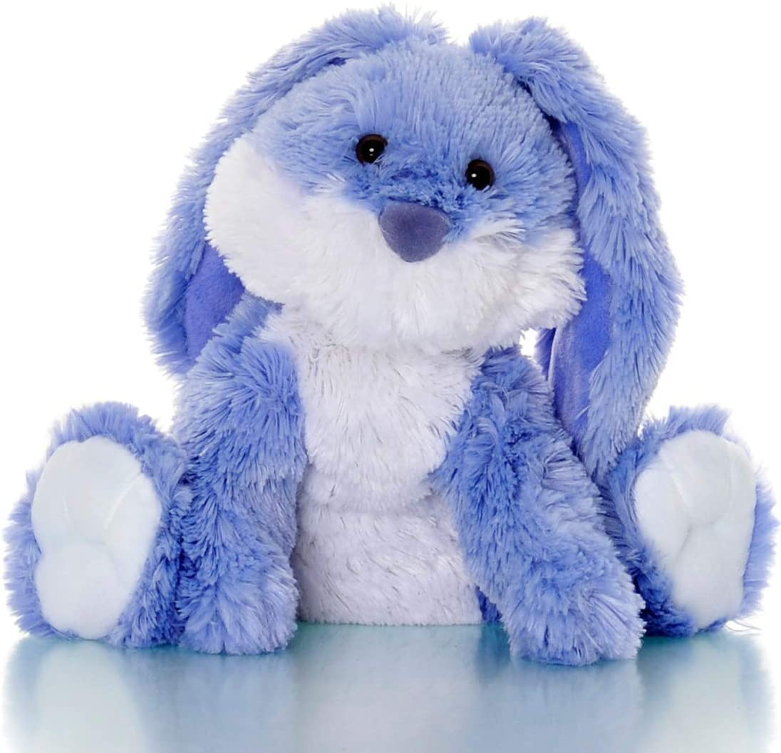 Sootheze Romeo Bunny Rabbit Scented Stuffed Animal Toy – Microwavable Hot Cold Stuffed Rabbit Toy