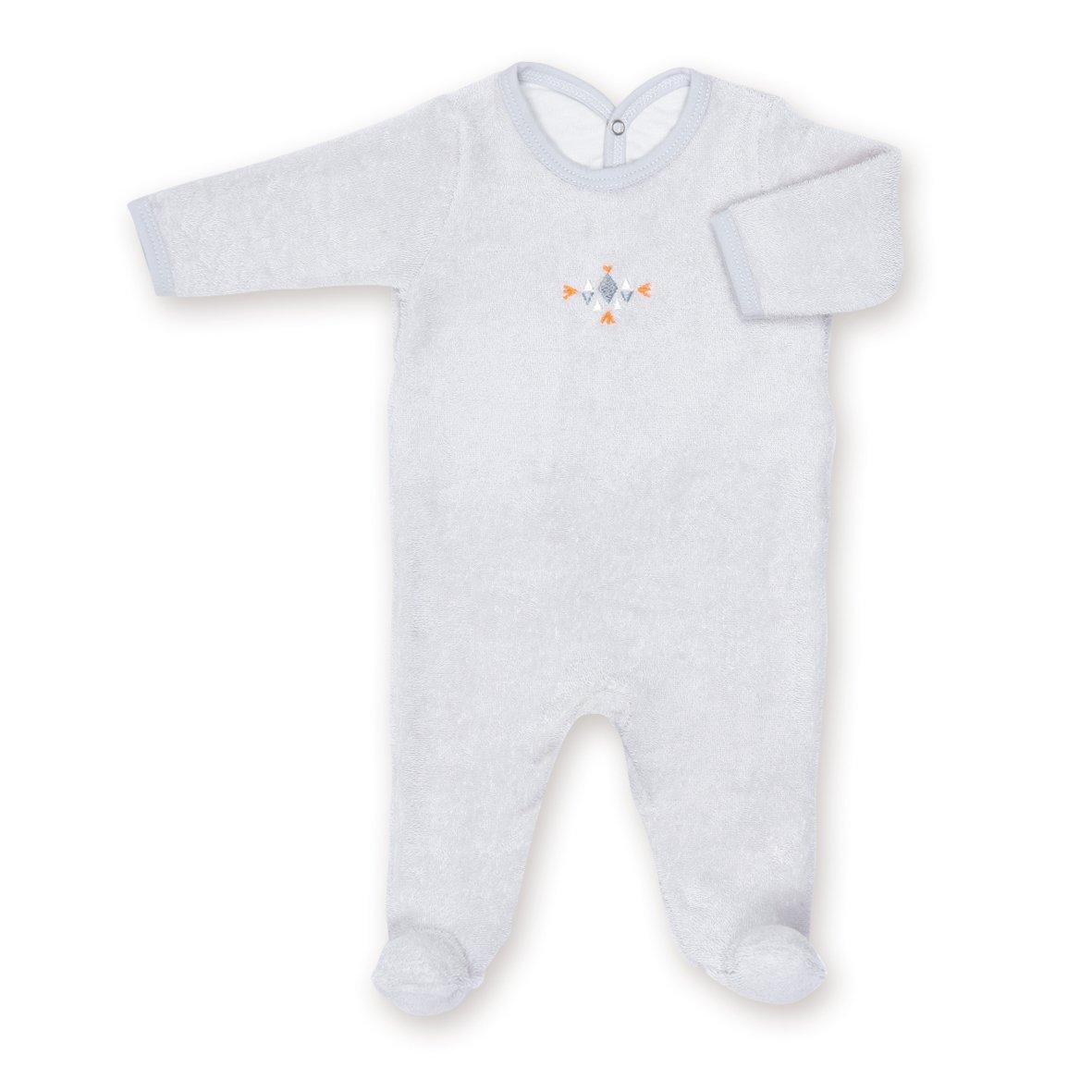 Bemini by Baby Boum Terry Pyjama (3-6 Months, Apawi 90 Plum) 563APAW290TU