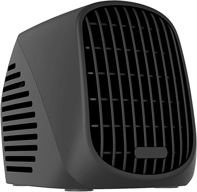 500W Mini Portable Electric Heater Home Office Space Heating Portable Fan Silent