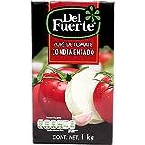 del Fuerte, del Fuerte Pure Tomate Brick 1 Kg, 1 kilogramos