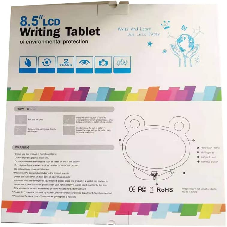 Writing Board Handwriting Tablet Sketching Board with Screen for Kids /& Christmas 10.5 inch LCD Writing Tablet