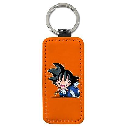 Llavero Chibi Kawaii Goku con Pez Parodia de Dragon Ball ...