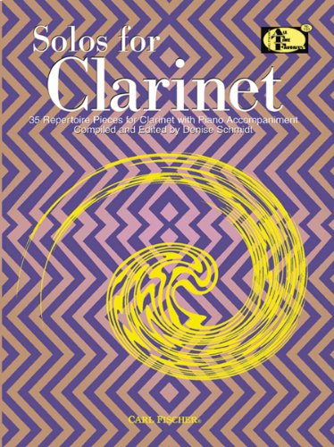 Solos for Clarinet: 35 Repertoire Pieces for Clarinet with Piano Accompaniment (ATF No. 133)
