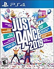 """Dance to your own beat with Just Dance 2019, the ultimate dance game featuring 40 hot tracks from chart-topping hits to family favorites, including """"Havana"""" by Camila Cabello, """"Bang Bang Bang"""" by BIGBANG, """"No Tears Left To Cry"""" by Aria..."""