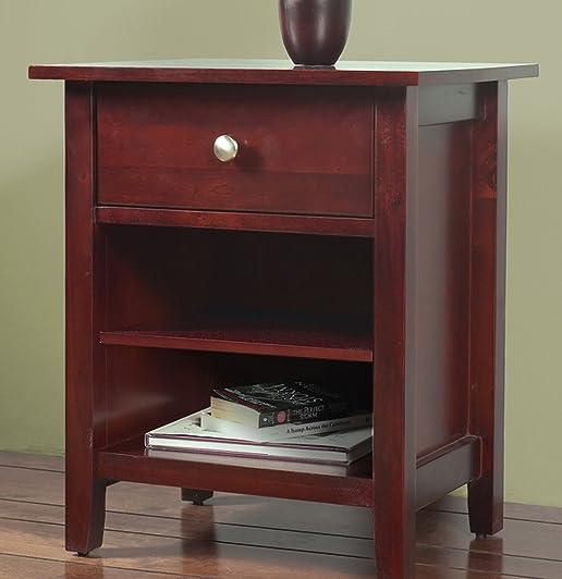 Best modern nightstand: Modus Furniture Newport 1-Drawer Nightstand