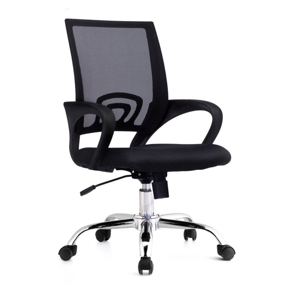 半ばバック 事務椅子,オフィスの椅子 デスクチェア ゲーミングチェア スイベル メッシュ アームレスト付きチェア-J B07DLW4WPV 100x60x44cm(39x24x17)|J J 100x60x44cm(39x24x17)