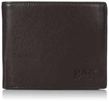276be39cd6 Caterpillar Men's Onyx Leather Wallet, Brown, One Size: Amazon.in: Bags,  Wallets & Luggage