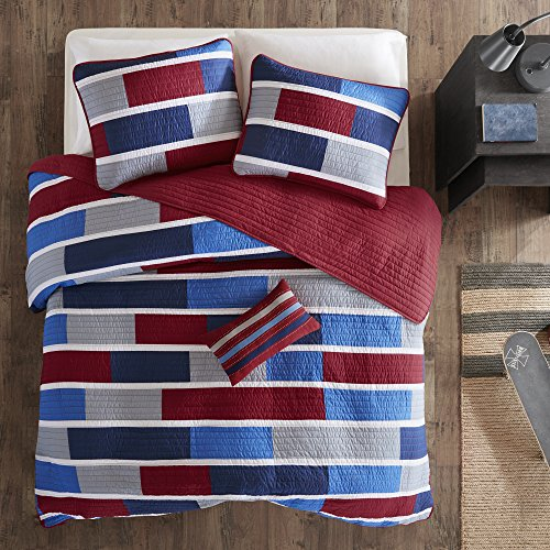 Mi Zone Bradley Twin Twin Xl Size Quilt Sets