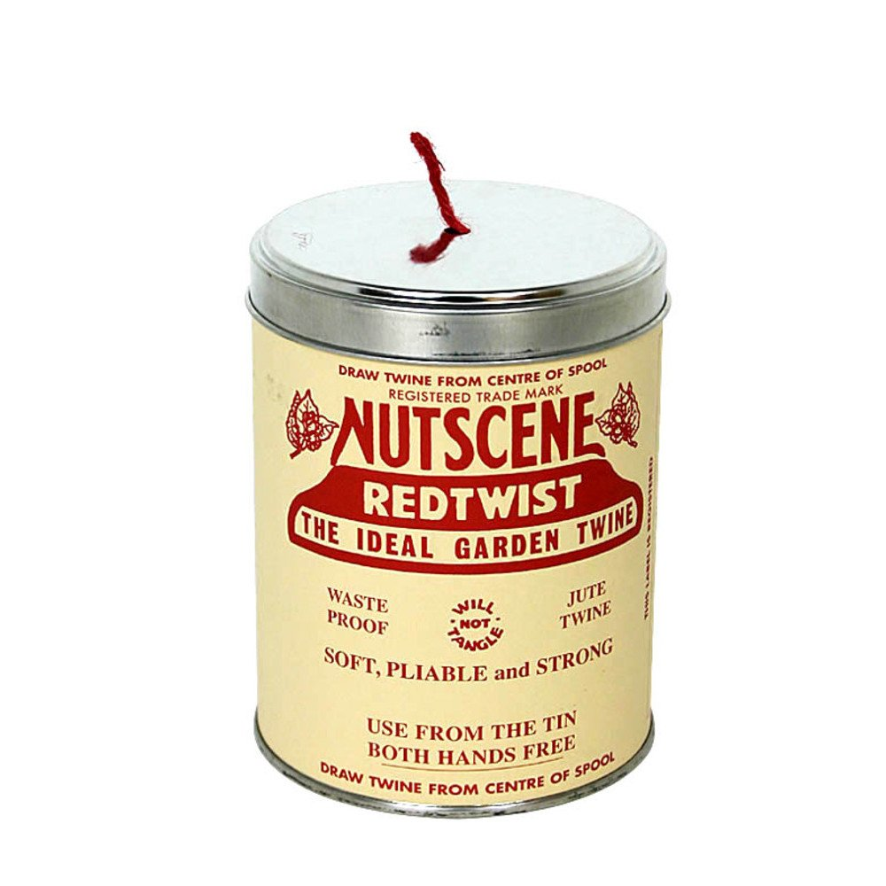 Bosmere K815R Nutscene Tin of Twine, 3-Ply, 492-Feet, Red