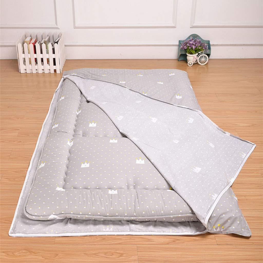 Tatami Mat Mattress Protective Case Removable Machine Wash Futon Dust Cover A-97x197cm HUANXA Cotton Futon Mattress Cover