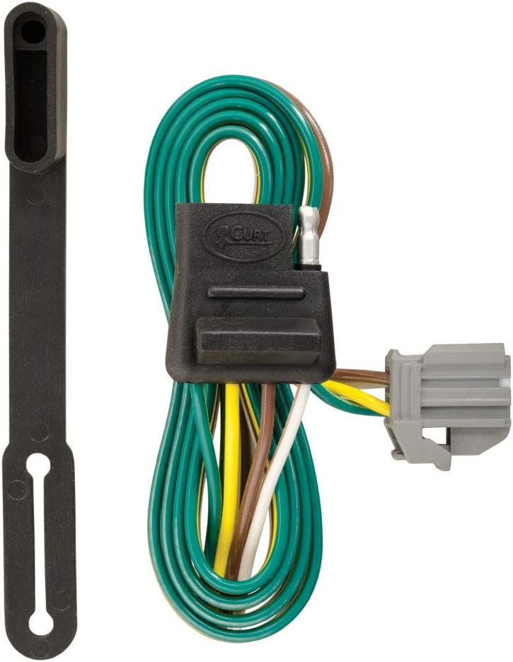 CURT 56210 Vehicle-Side Custom 4-Pin Trailer Wiring Harness for Select on 2011 dodge durango trailer wiring, 2011 ford expedition trailer wiring, 2012 honda pilot trailer wiring, 2011 jeep patriot trailer wiring, 2011 kia sportage trailer wiring,