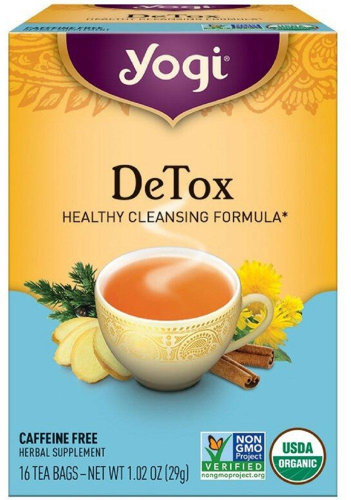 Yogi Herbal Tea Bags, Detox 16 ea ( pack of 3) by Yogi