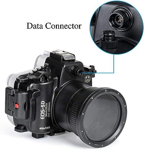 Carcasa Impermeable para cámara Canon 5D Mark III IV DSLR ...