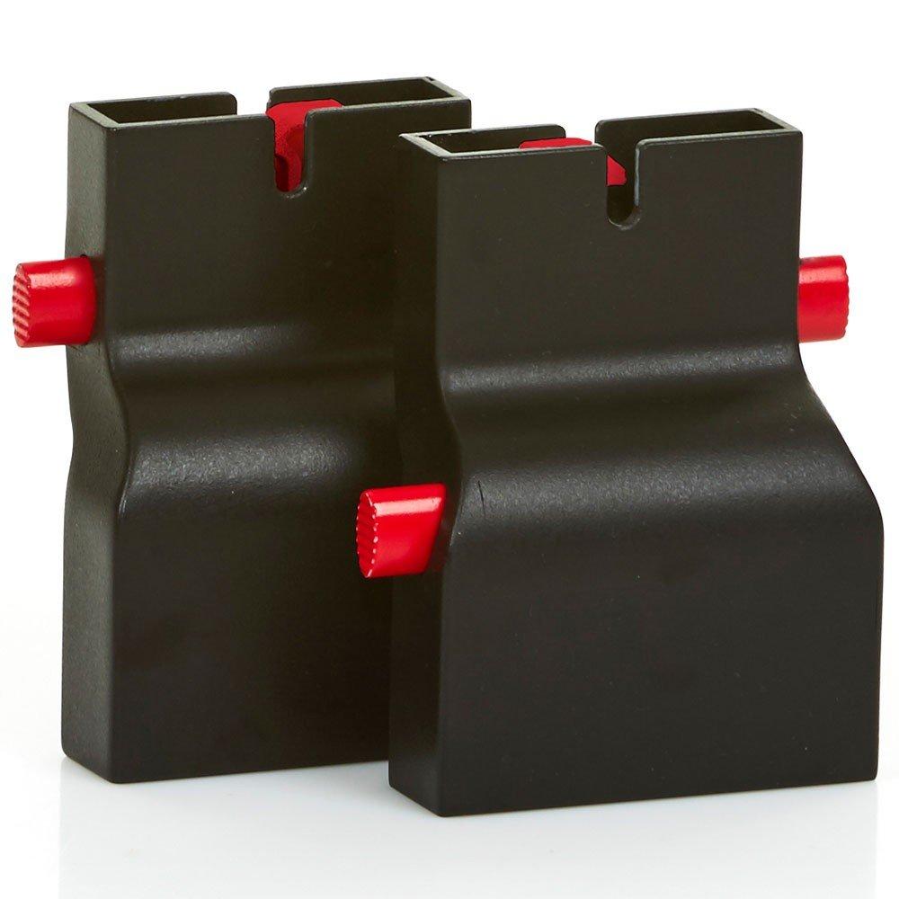 ABC Design 9130400/Adapter Chili//Salsa//condor//Turbo//Viper//Pepper//Zoom adaptador Negro