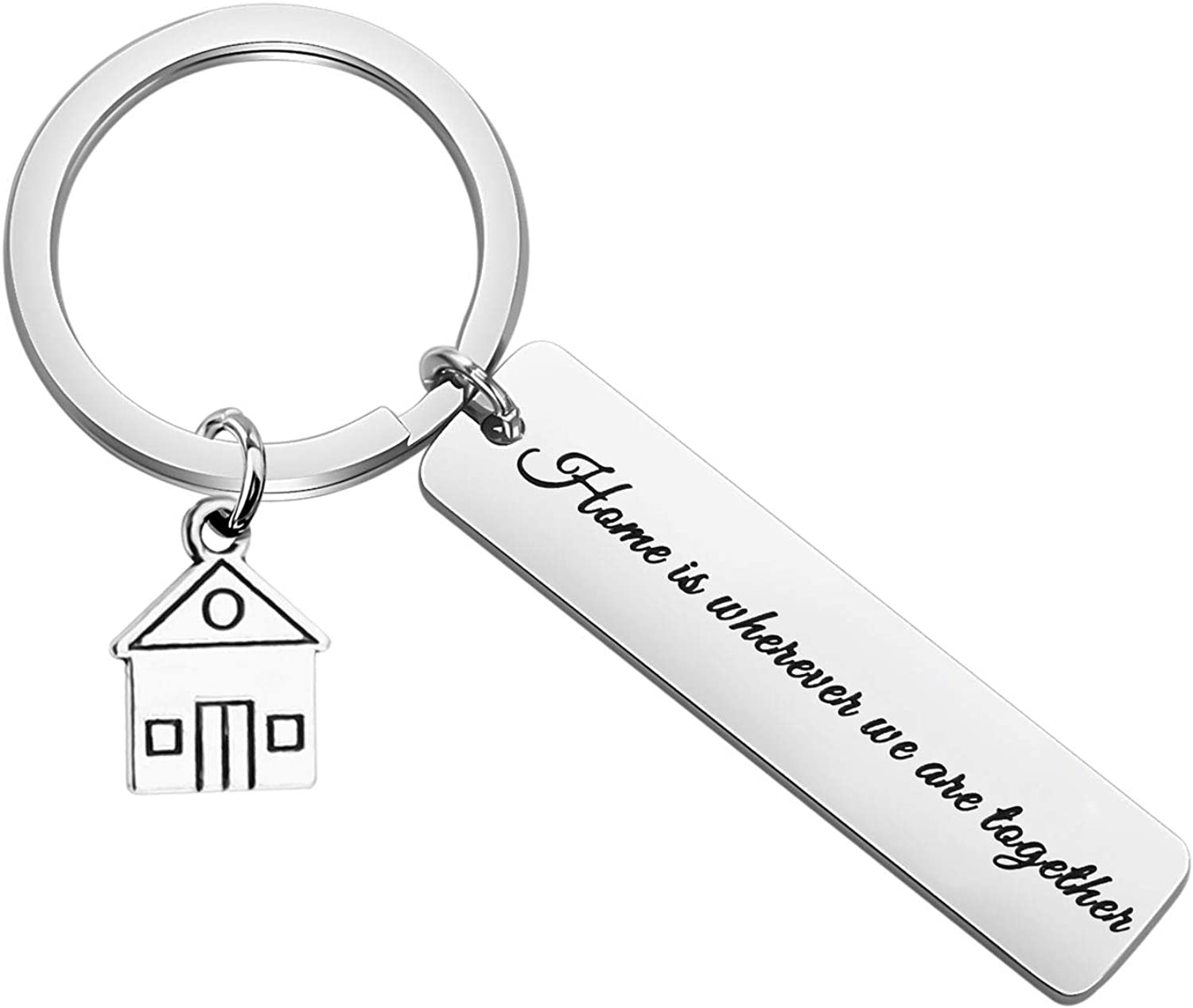 New House Key Chain Funny Apartment Owner Gift Personalized New Apartment Owner Keychain For New Apartment Keyring