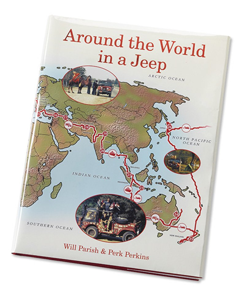 Orvis Around The World in A Jeep