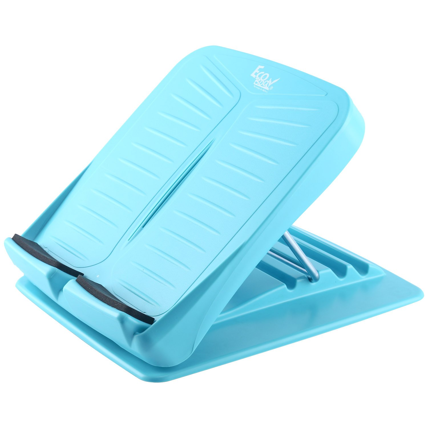 Yaegoo Portable Slant Board | Adjustable Incline Boards and Calf/Ankle Stretcher | Anti-Slip Design | 4 Positions Foot Stretch Wedge Board (250 lb Capacity)