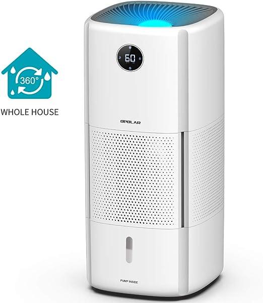 Humidificador de evaporación digital de 10 L para toda la hora con ...