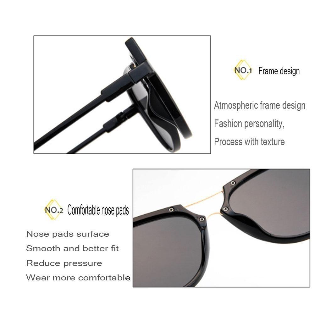 GTUKO-Gafas de sol Occhiali Da Sole Colorati Marea Selvatici Personalità Nuova Moda Retrò Occhiali Da Sole, 016