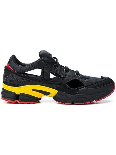 buy popular fb052 4fe75 adidas by RAF Simons Herren F34234 Schwarz Leder Sneakers