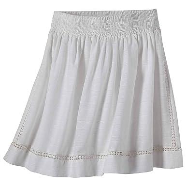Mountain Khakis Falda de Verano Informal para Mujer - Blanco ...