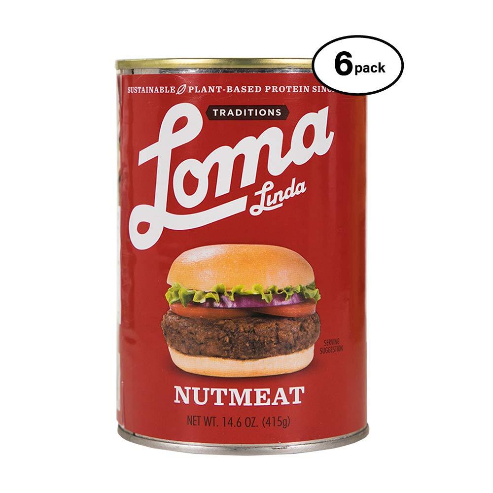 Loma Linda - Plant-Based - Nutmeat (14.6 oz.) (Pack of 6) - Kosher by Loma Linda (Image #1)