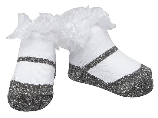 con borsa in regalo rosso XS motivo false scarpe in cotone Baby Emporio/Calzini da bambina