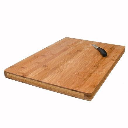 Tagliere in bambù 49x34cm   3cm di spessore   grande tagliere da ...