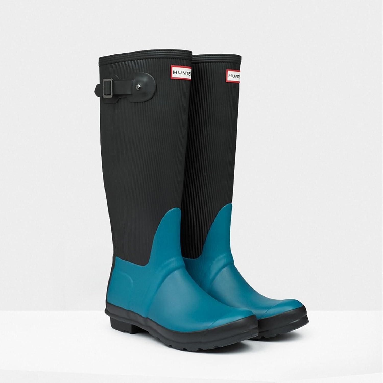Hunter Original Ribbed Leg Waterproof Rubber Rain Boot