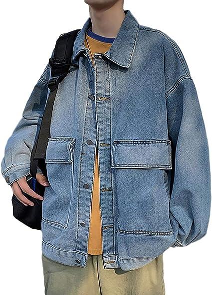 Heaven Days(ヘブンデイズ) Gジャン デニムジャケット ジージャン ブルゾン アウター デニム ジャケット ドロップショルダー メンズ 2101E0008